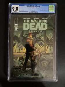 The Walking Dead Deluxe #1 10/2020 Tony Moore & McCaig Variant CGC 9.8