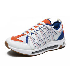 MENS WOMENS AIR CUSHION BREATHABLE LACE UP TRAINERS CASUAL SPORTS GOLF SHOES
