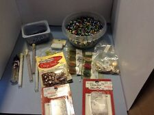 Lot Of Jewelry Beads And Sequins