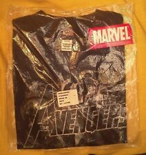Avengers T-shirt 2XL men's NOS MIB navy w Tags Sealed bag 2007 Marvel End Game