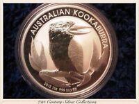 2012 Australian Kookaburra 1oz 999 Silver Dollar Coin