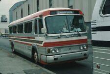 Hertz Motor Coaches Gm Pd 4106 bus Kodachrome original Kodak slide