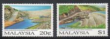 Malasia ESTAMPILLADA SIN MONTAR 1987 apertura del sultán Mahmud esquema hidroeléctrico