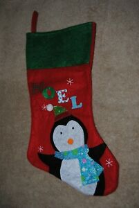 Claire/'s Penguin Christmas Stocking