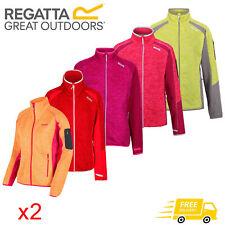 2 x Regatta Laney  Womens Heavy Warm Stretch Full Zip Fleece Jacket RRP £75