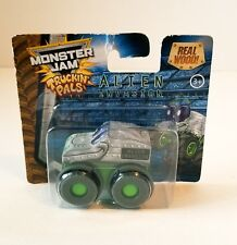 Monster Jam Truck Truckin' Pals Alien Invasion Real Wood Brand New