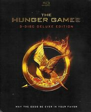 The Hunger Games ~ 3-Disc Deluxe Edition Blu-ray with Slipcover ~ FREE Shipping