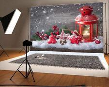 7x5FT Christmas Snowflake Gift Photography Background Backdrops Studio Props