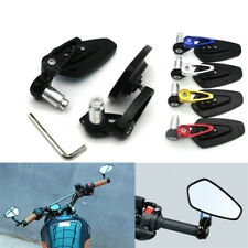 Motorcycle CNC Bar End Rearview Side Mirrors For Triumph Speed Triple 2Pcs