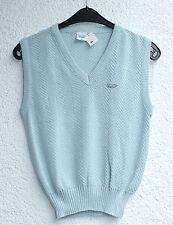 Damen-Pullunder mit V-Ausschnitt aus Baumwolle