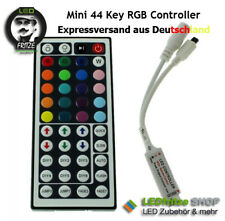 RGB (IR) Controller für 5V 12V 24V LED Streifen mit 44 Key Tasten Fernbedienung