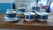 Stylish Mid century modern Retro Midwinter Staffordshire pottery Madeira Tea Set