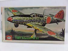 UPC TONY-KAWASAKI KI 61 1/72 Scale Plastic Model Kit 8016-49 Unbuilt Vintage
