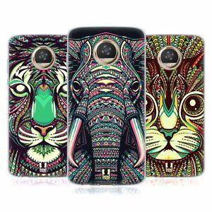 HEAD CASE DESIGNS AZTEC ANIMAL FACES 2 SOFT GEL CASE FOR MOTOROLA PHONES