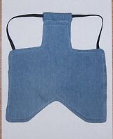 4 WIDE DURABLE DENIM Chicken Saddle Apron Hen Jacket BACKYARD POULTRY USA