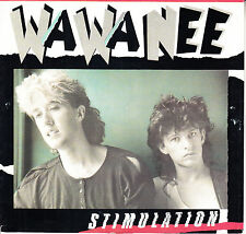 """WA WA NEE Stimulation PICTURE SLEEVE 7"""" 45 rpm record NEW + juke box title strip"""