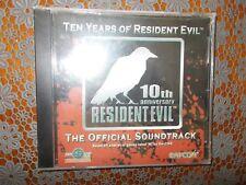 Resident Evil 10th anniversary Resident Evil soundtrack factory sealed
