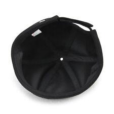 Boys Trendy Black Skullcap Sailor Caps Beanie with Adjustable Strap Black