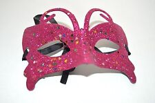 NEW Pink butterfly glitter Masquerade Mask Eye Prom Gothic halloween