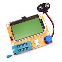 LCR-T4 Transistor Tester Diode Triode Capacitance ESR Meter MOS NPN/PNP + Case