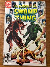 The Saga of the Swamp Thing #4 Dc Comics 1982 Vf/Nm Alan Moore