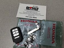 NEW GENUINE HONDA CR-V 15-16 EX EX-L SMART KEY FOB REMOTE  w/ key 72147-T0A-A11