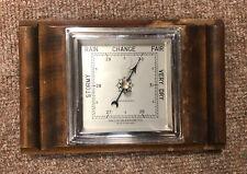 More details for precision vintage barometer, 24.5 x 16cm, uk seller, heavy duty, free p&p