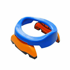 Kids Potty Seat Foldable Potty Trainer And 10 Blue PP Bags