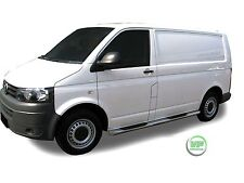 VW Transporter T5 2004-15 barres latérales chrome inox Side Steps Paire