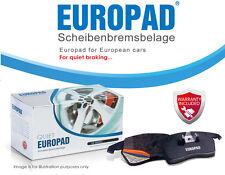 Volkswagen Bora 2.3L 2.8L 12/99-06/07 Europad Front Disc Brake Pads DB1492