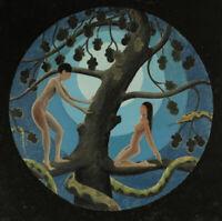 [att.] Frederick Cayley Robinson ORIGINAL Adam + Eve gouache vanessa bell links