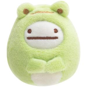 Sumikko Gurashi Ghost Frog mini Tenori Plush Doll minikko to asobo San-X Japan