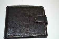 portafoglio uomo 8878 nero borsello contanti carte pvc monete euro economico