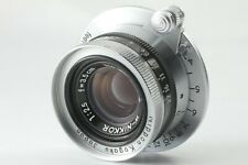 [Near Mint] Nikon W-Nikkor 35mm 3.5cm F/2.5 Lens for Leica L39 From Japan 1561