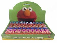 60PC SESAME STREET ELMO STAMPS STAMPERS PARTY FAVOR CANDY BAGS GIFTS