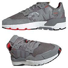 Adidas Originales Nite Jogger 3M Gris para Hombre Zapatillas Zapatos UK 10 EU 44 2/3 nos 10.5