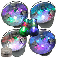 Rave Beer Ice Bucket Bright Glow LED Lights Submersible Party 12 Color Changing