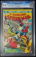 Amazing Spider-Man #125 Marvel Comics CGC 9.8 Origin of Man-Wolf (8004)