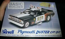 REVELL 85-0853 PLYMOUTH DUSTER COP-OUT FUNNY 1/24 MODEL CAR MOUNTAIN KIT FS