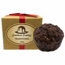 Traditional Christmas Plum Pudding