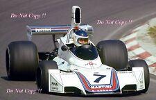 Carlos Reutemann Martini Brabham BT44B Dutch Grand Prix 1975 Photograph 1