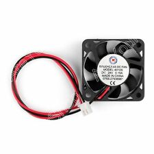 DC Brushless Cooling 2 Pin PC Computer Fan 12V 24V 4010s 40x40x10mm 0.1A 0.15T