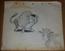 New ListingNice Vintage Disney Model Practice Animation Drawing 1938 Farmyard Symphony