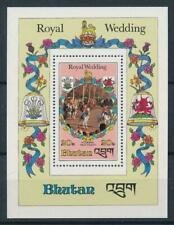 SPECIAL LOT Bhutan 1981 321 - Royal Wedding - 50 Souvenir Sheets - MNH