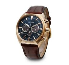 Citizen CA4283-04L Eco-Drive Chronograph Leather Strap Gent's 44mm Watch