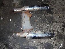 1986 honda vt1100 shadow exhaust mufflers pipe muffler