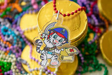 Crinklz Pirate Cute ABDL Baby Cartoon Tiger Keychain Charm (Limited Edition)