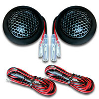 CT Sounds Tropo 20mm Silk Dome Car Audio Metal Mesh Stereo Tweeters (Pair) Black