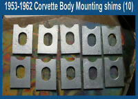 Corvette 1954 1955 1956 1957 1958 1959 1960 1961 1962 Frame Body Mounting Shims