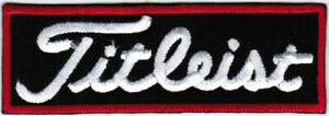 Titleist Golf Badge PGA Iron On Embroidered Patch